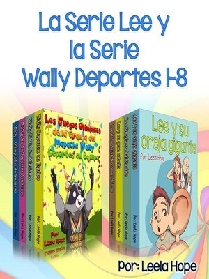 cover image of la Serie Lee y la Wally Deportes Serie 1-8