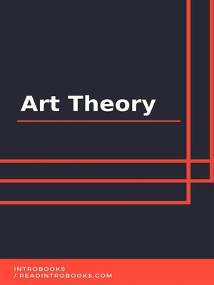 cover image of Art Theory