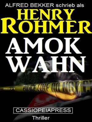 cover image of Amok-Wahn