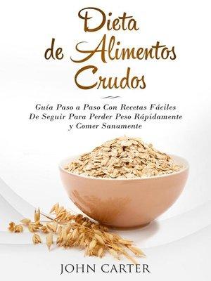 cover image of Dieta de Alimentos Crudos