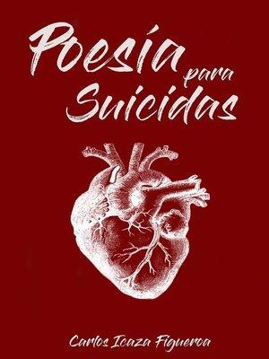 cover image of Poesía para suicidas