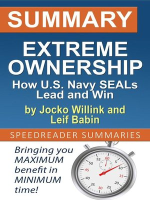 cover image of Summary of Extreme Ownership