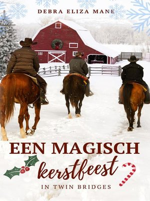 cover image of Een magisch kerstfeest in Twin Bridges