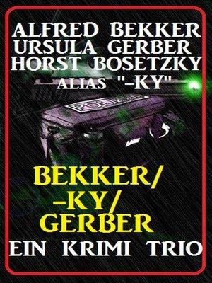 cover image of Bekker/-ky/Gerber