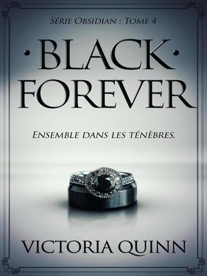 cover image of Black Forever (French)