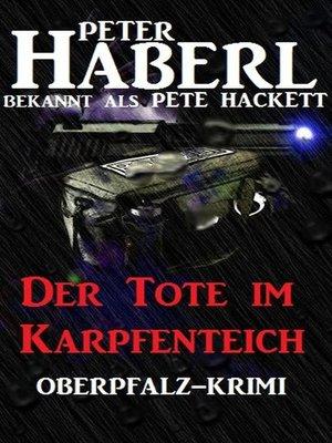 cover image of Der Tote im Karpfenteich