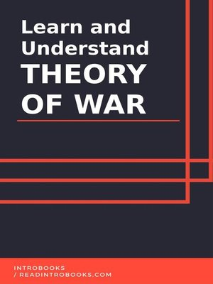cover image of Learn and Understand Theory of War