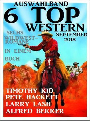 cover image of Auswahlband 6 Top Western September 2018