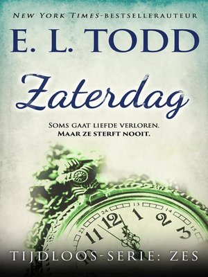 cover image of Zaterdag