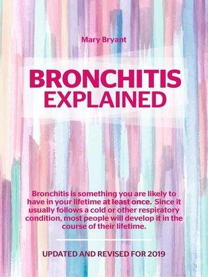 cover image of Bronchitis Explained