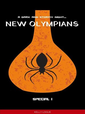 cover image of A Dark and Stormy Night (New Olympians Special)