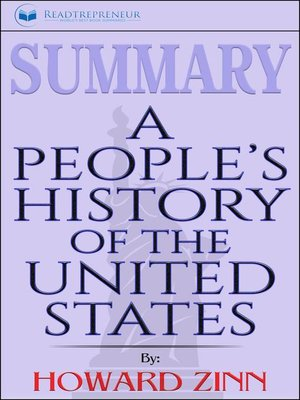 cover image of Summary of a People's History of the United States by Howard Zinn
