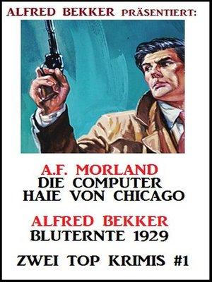 cover image of Zwei Top Krimis #1