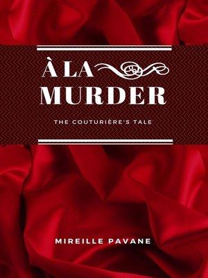 cover image of À la Murder