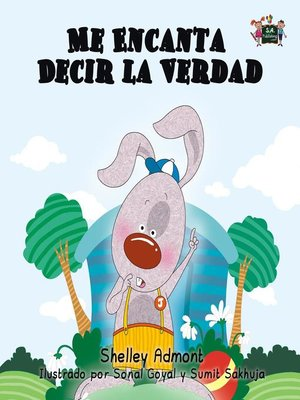 cover image of Me Encanta Decir la Verdad (Spanish Kids Book)