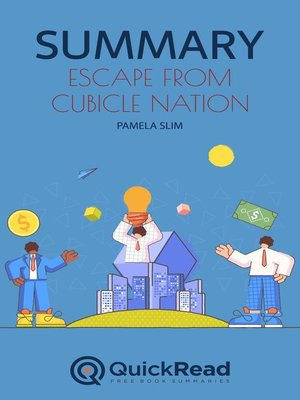 """cover image of Summary of """"Escape from Cubicle Nation"""" by Pamela Slim"""
