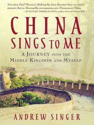 cover image of China Sings to Me