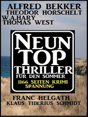 cover image of 1166 Seiten Thriller Spannung