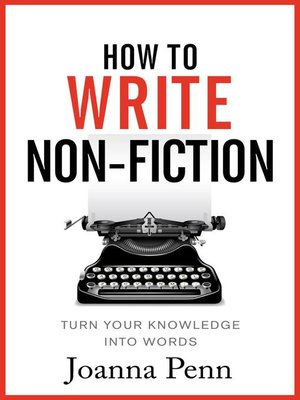 cover image of How to Write Non-Fiction