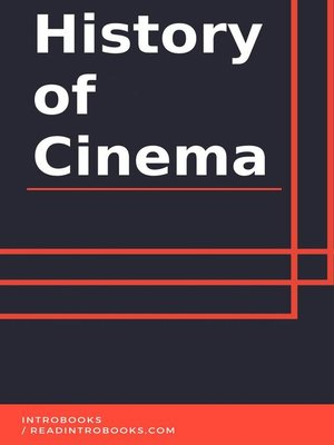 cover image of History of Cinema