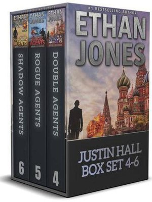 cover image of Justin Hall Spy Thriller Series--Books 4-6