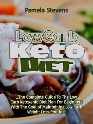cover image of Low Carb Keto Diet