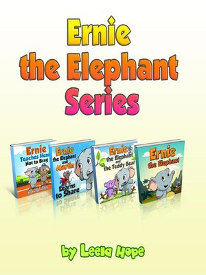 cover image of Ernie the Elephant Series