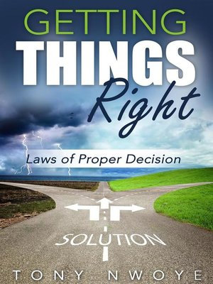 cover image of Getting Things Right
