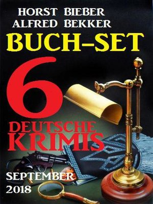 cover image of Buch-Set 6 deutsche Krimis September 2018