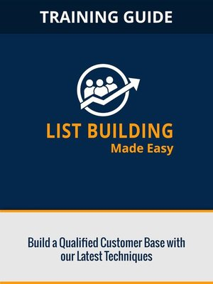 cover image of List Building Made Easy