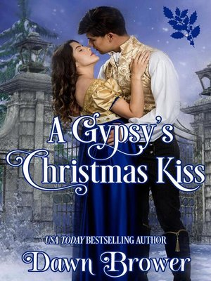 cover image of A Gypsy's Christmas Kiss