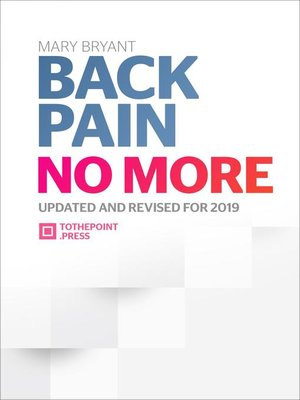 cover image of Back Pain No More