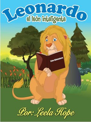 cover image of Leonardo el león inteligente