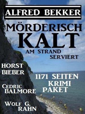 cover image of Mörderisch kalt am Strand serviert