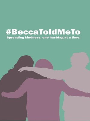 cover image of #BeccaToldMeTo