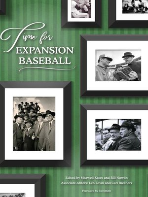 cover image of Time for Expansion Baseball