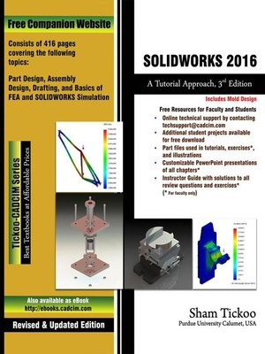 cover image of SOLIDWORKS 2016