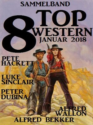 cover image of Sammelband 8 Top Western Januar 2018