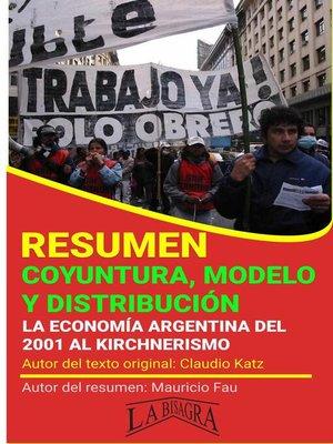 cover image of Resumen de Coyuntura, Modelo y Distribución
