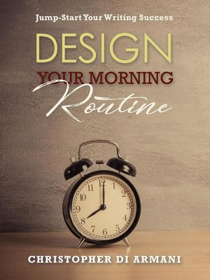 cover image of Design Your Morning Routine
