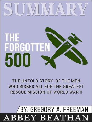 cover image of Summary of the Forgotten 500