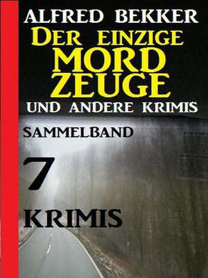 cover image of Sammelband 7 Krimis