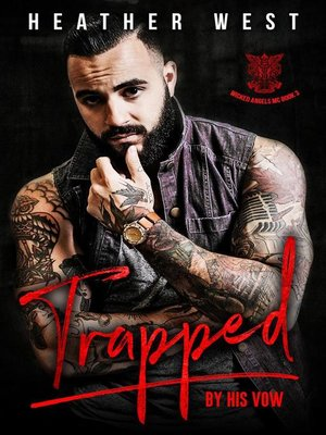 cover image of Trapped by His Vow
