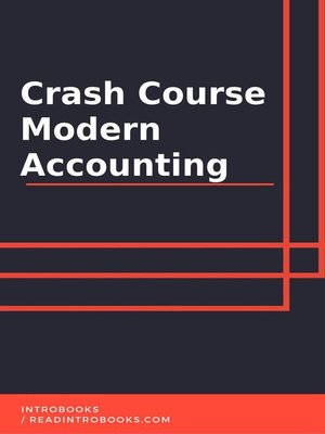 cover image of Crash Course Modern Accounting