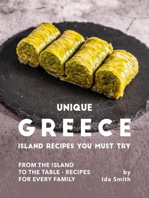 cover image of Unique Greece Island Recipes You Must Try
