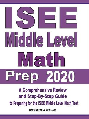 cover image of ISEE Middle Level Math Prep 2020