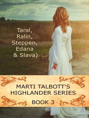 cover image of Marti Talbott's Highlander Series 3