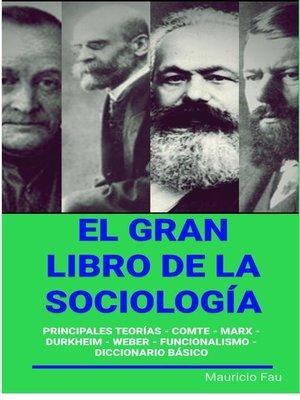 cover image of El Gran Libro de la Sociología