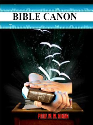 cover image of Bible Canon