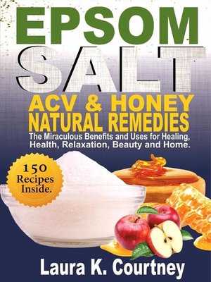epsom salt acv honey natural remedies
